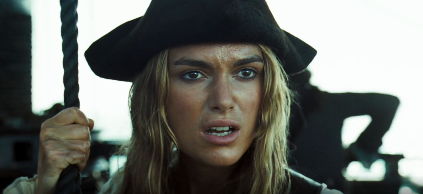 Elizabeth Swann Pirates of the Caribbean