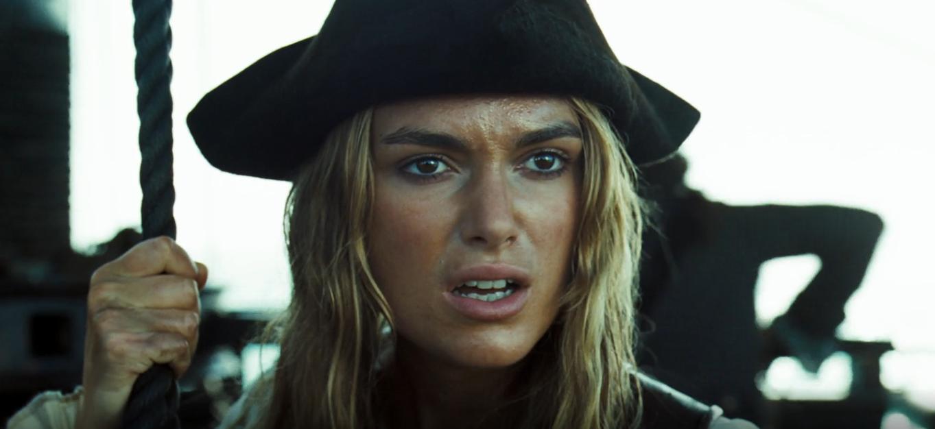 Elizabeth Swann Pirates of the Caribbean